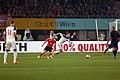 EM-Qualifikationsspiel Österreich-Russland 2014-11-15 082 Christoph Leitgeb Alexander Kokorin.jpg