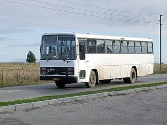 ERF (truck manufacturer) - ERF Trailblazer bus in South Africa