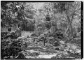 ESTATE HOUSE RUINS, LOOKING SOUTHWEST - Estate Cinnamon Bay, Sugar Mill Ruins, Cinnamon Bay, Windberg, St. John, VI HAER VI,2-MABA,3-10.tif