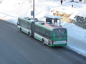 Lasnamäe - Bus №67 in Laagna street
