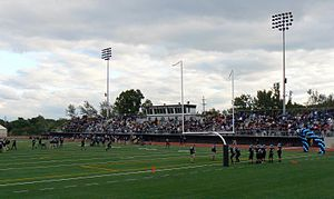 Grand Rapids Christian High School - The new Eagles Stadium