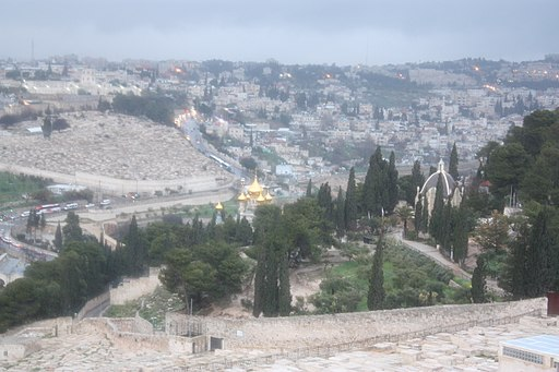 East Jerusalem from the Mount of Olives 6