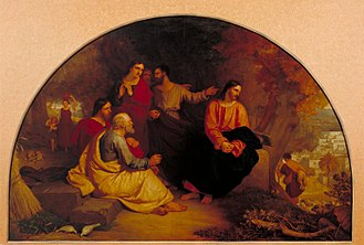 Charles Lock Eastlake - Christ Lamenting over Jerusalem, one of Eastlake's most popular biblical paintings.