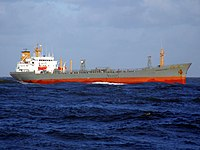Eberhard IMO 8209652 approaching Port of Rotterdam, Holland 12-Dec-2006.jpg