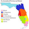 Ecclesiastical Province of Miami map.png