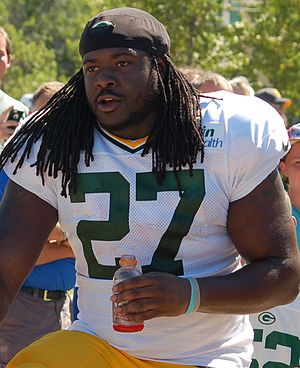 Eddie Lacy - Lacy with the Green Bay Packers in 2015