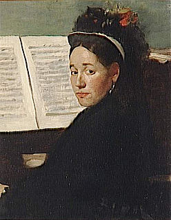 Marie Dihau French singer and pianist