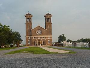Edgard, Louisiana - St. John the Baptist Roman Catholic Church, Edgard