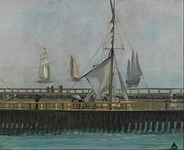 Edouard Manet - The jetty of Boulogne-sur-Mer - Google Art Project.jpg