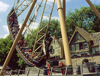 Halve Maen (Efteling) pirate ship ride in the Efteling