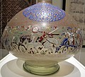 Egitto o siria, bottiglia, periodo mamelucco, XIII sec. 02.JPG