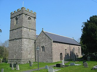 Llangors - St Paulinus' church