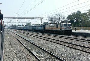 Mumbai–Chennai line - Image: Egmore dadar sf express