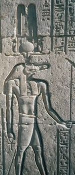 Sobek: bajorrelieve del templo de Kom Ombo.