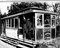 Electric streetcar of the Seattle Consolidated Street Railway Co, ca 1894 (SEATTLE 882).jpg