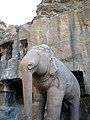 Elephant Guard at Ellora Caves.JPG