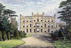 Lewis Nockalls Cottingham - Elvaston Castle in the late 19th century.