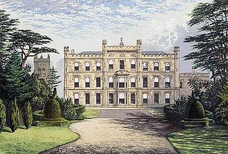 Lewis Nockalls Cottingham - Elvaston Castle in the late 19th century.