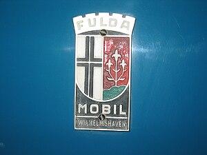 Fuldamobil - The logo of the Fuldamobil brand