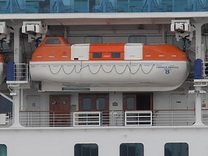 Emerald Princess Lifeboat 11 July 2012 Tallinn.JPG