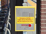 Emergency call box at Meadowbrook station, Aug 16.jpg