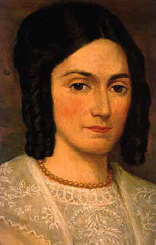 Emma Hale Smith Bidamon c. 1841