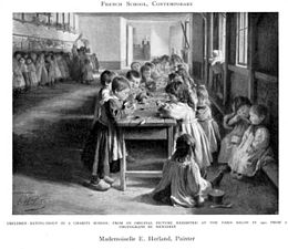 Emma Herland - Children Eating Soup in a Charity School - 1901.jpg