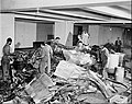 Empire State Building plane crash wreckage 1945.jpg