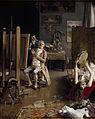 En el estudio del pintor, por Luis Jiménez Aranda.jpg