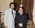 Eng. Khalid Al - Khuwaildi with the late President Zine El Abidine Ben Ali.jpg