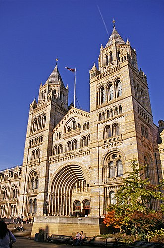 Natural History Museum, London - Image: Entrance to Natural History Museum, Cromwell Road, London SW7 geograph.org.uk 1034304