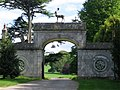 Entrance to deer park, Charborough Park - geograph.org.uk - 294647.jpg