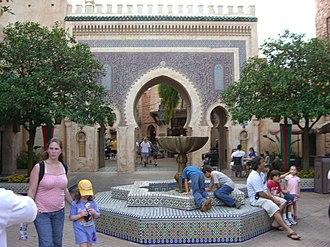 Morocco Pavilion at Epcot - Image: Epcot Morocco Ent