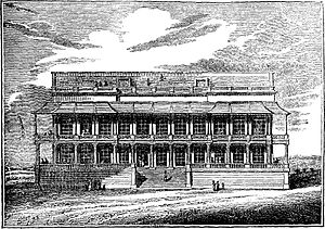 Isabella Beeton - The new race stand at Epsom Racecourse in 1829