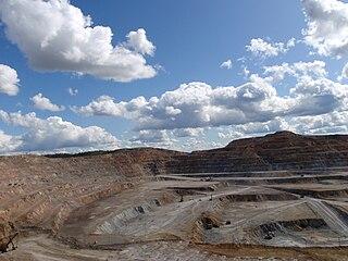Erdenet Mining Corporation mine