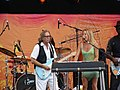 Eric Clapton and Sheryl Crow (4776356513).jpg