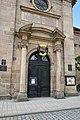 Erlangen - Hugenottenkirche - Portal.JPG