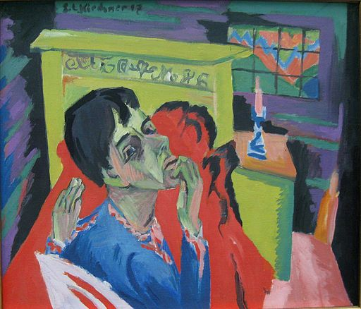 Ernst Ludwig Kirchner Selbstbildnis als Kranker 1918-1