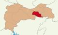 Erzincan location Üzümlü.png