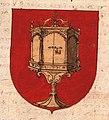 Escudo da Galiza no Nobiliario de casas y linages, armas y apellidos (c. 1570).jpg