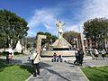 Estàtua d'Atahualpa a la plaça de los Baños del Inca.jpg