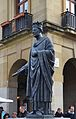 Estàtua de Carles III de Navarra, Pamplona.JPG