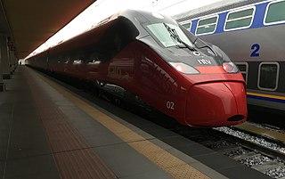 Pendolino Italian family of tilting trains