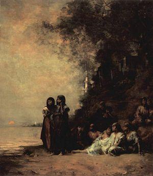 Un Souvenir d'Esneh, 1876