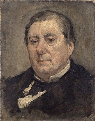 Eugène Marin Labiche - Portrait of Eugène Marin Labiche by Marcellin Desboutin