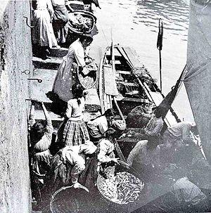 "Eulalia Abaitua Allende-Salazar - ""Arrival of the Sardines"""