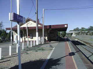 Euroa railway station