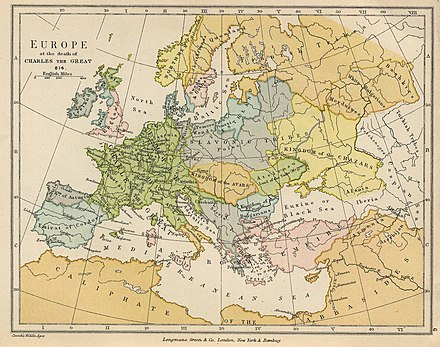Europe at the death of the Charlemagne 814. Europe 814.jpg