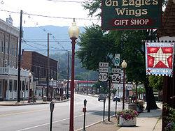 Main Street in Everett