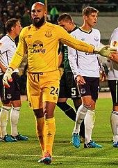 655b4985d Howard in UEFA Europa League action for Everton against Krasnodar